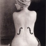 Man Ray Le violon-Ingres - 1924