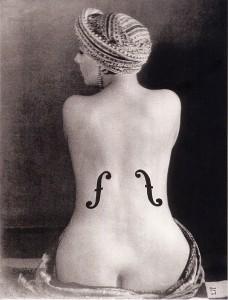 Man Ray Le violon-Ingres - 1924