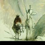 Don Quichotte et la Mule Daumier